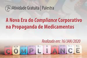 Palestra: A Nova Era do Compliance Corporativo na Propaganda de Medicamentos