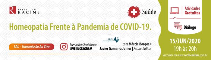 Diálogo: Homeopatia frente à Pandemia de COVID-19