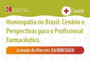 Palestra/Aula Magna: Homeopatia no Brasil: Cenário e Perspectivas para o Profissional Farmacêutico.