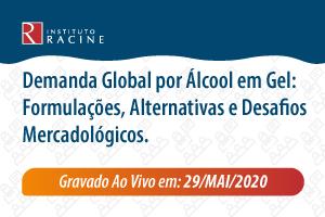 Palestra: Demanda Global por Álcool em Gel: Formulações, Alternativas e Desafios Mercadológicos