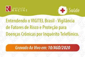Palestra: Entendendo o VIGITEL Brasil - Vigilância de Fatores de Risco e Proteção para Doenças Crônicas por Inquérito Telefônico