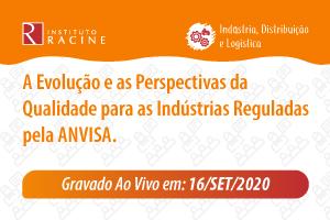 Palestra/Aula Magna: A Evolução e as Perspectivas da Qualidade para as Indústrias Reguladas pela ANVISA