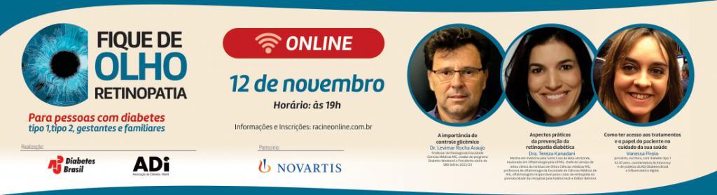 Fique de Olho Retinopatia – Edição Belo Horizonte