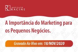 Palestra: A Importância do Marketing para os Pequenos Negócios