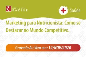Palestra: Marketing para Nutricionista: Como se Destacar no Mundo Competitivo