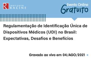 Palestra: Regulamentação de Identificação Única de Dispositivos Médicos (UDI) no Brasil - Expectativas, Desafios e Benefícios