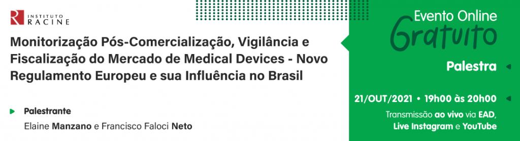 Palestra: Nova Regulação Europeia e sua Influência no Brasil
